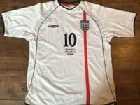 Classic Football Shirts | 2001 England Vintage Old Jersey